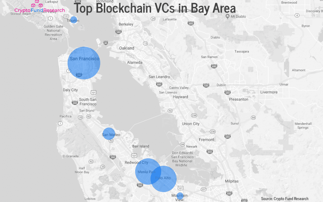 Silicon Valley Dominates Top Blockchain VCs