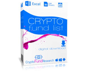 Downloadable List of Crypto Funds
